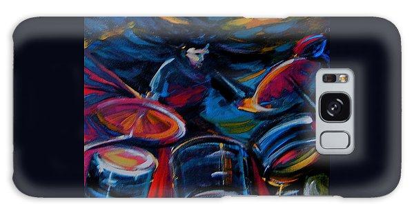 Drummer Craze Galaxy Case by Jeanette Jarmon