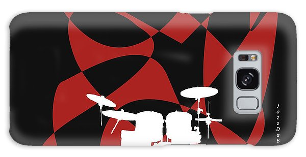 Drums In Black Strife Galaxy Case