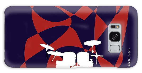 Drums In Purple Strife Galaxy Case