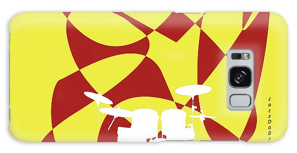 Drums In Yellow Strife Galaxy Case