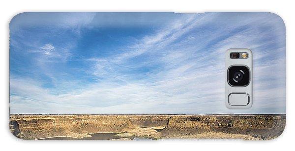 Dry Fall, Washington Galaxy Case by Jingjits Photography