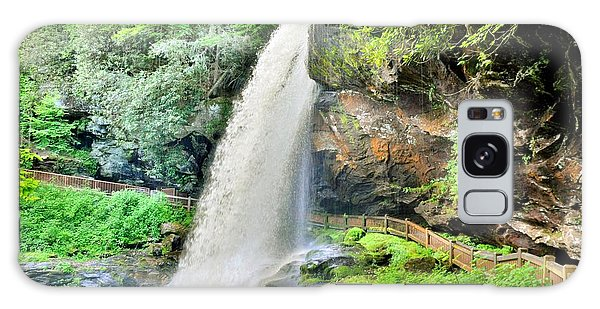 Dry Falls Highlands North Carolina 2 Galaxy Case