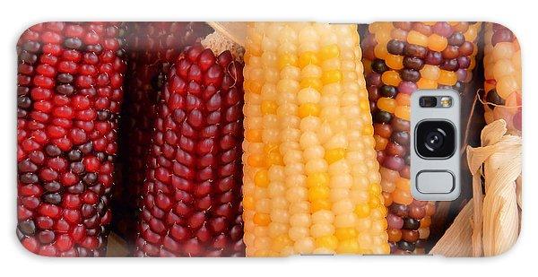 Dry Indian Corn Galaxy Case by Jeff Lowe