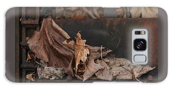 Dry Leaves And Old Steel-i Galaxy Case