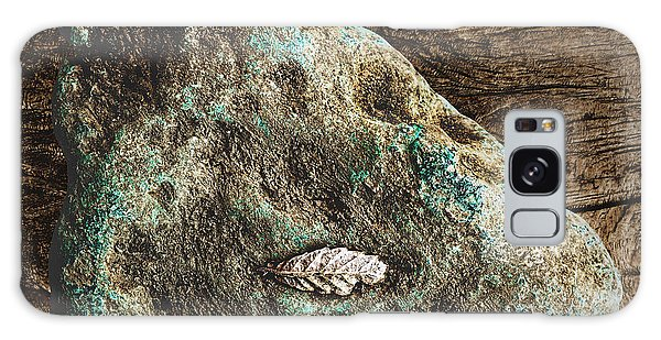 Dryas Leaf And Copper Nugget Galaxy Case