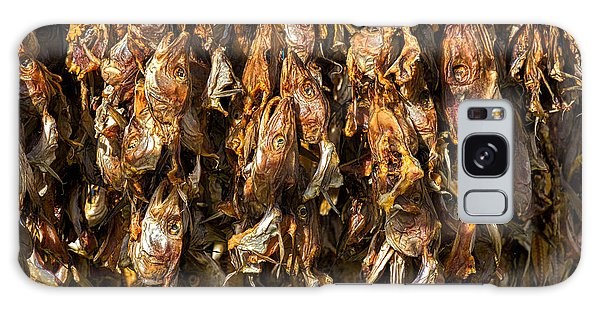 Drying Fish Heads - Iceland Galaxy Case