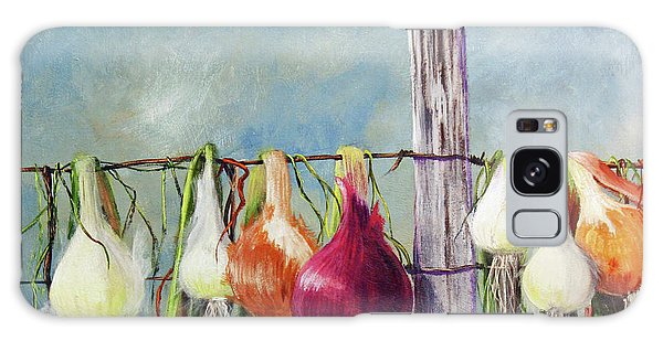 Drying Onions Galaxy Case