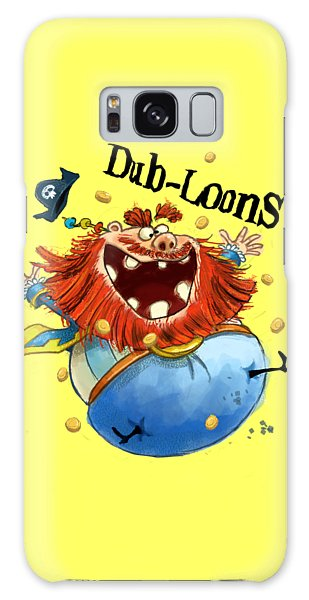 Dub-loons Galaxy Case by Andy Catling