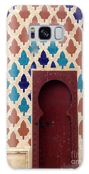Dubai Doorway Galaxy Case