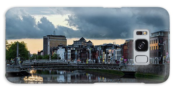 Dublin Sky At Sunset Galaxy Case