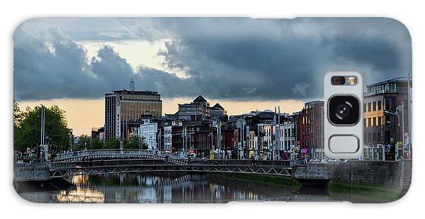 Dublin Sky At Sunset Galaxy Case