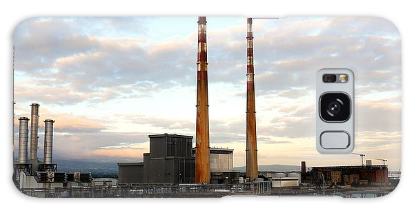 Dublin's Poolbeg Chimneys Galaxy Case
