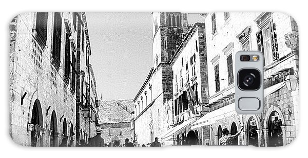 #dubrovnik #b&w #edit Galaxy Case