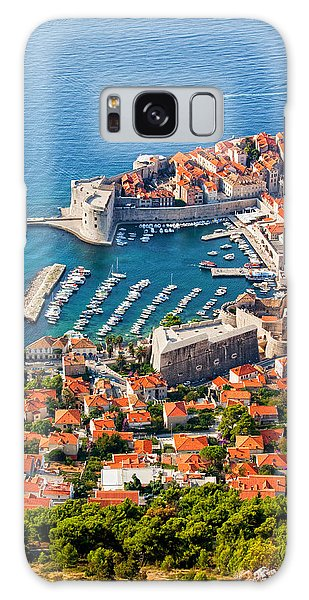 Dubrovnik From Above Galaxy Case