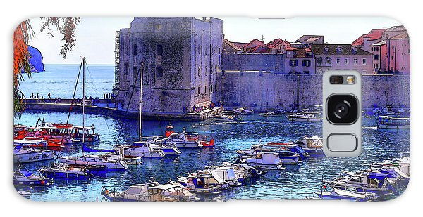 Dubrovnik Harbour Galaxy Case
