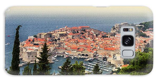 Dubrovnik Old City On The Adriatic Sea, South Dalmatia Region, C Galaxy Case