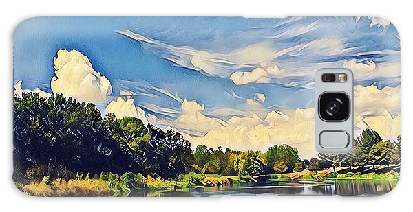 Reflections At Duck Creek Galaxy Case