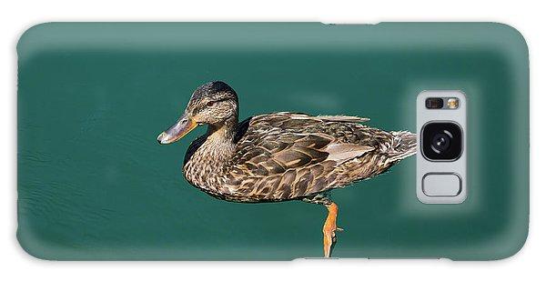 Duck Floats Galaxy Case