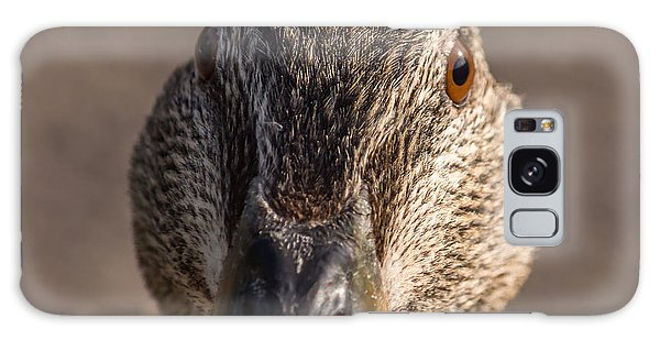 Duck Headshot Galaxy Case