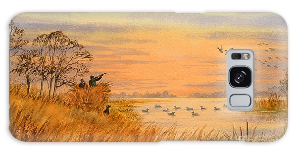 Duck Hunting Calls Galaxy Case by Bill Holkham
