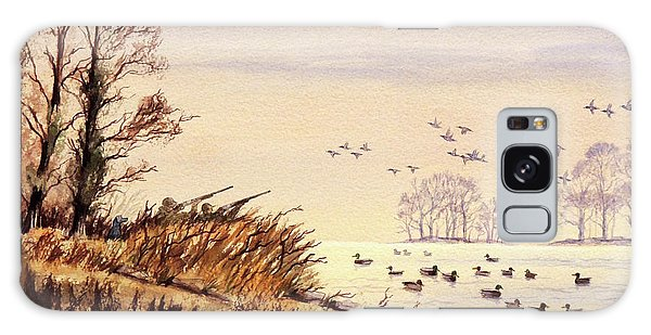 Duck Hunting Times Galaxy Case by Bill Holkham