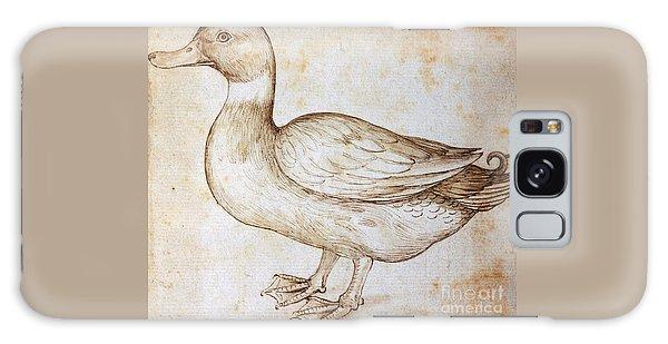 Duck Galaxy Case by Leonardo Da Vinci