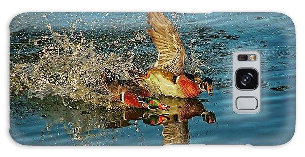 Duck Racing, Wood Ducks Galaxy Case