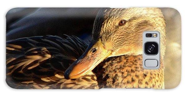 Duck Sunbathing Galaxy Case
