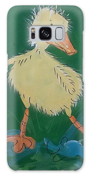 Duckling 3 Galaxy Case