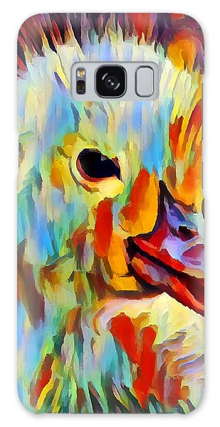 Gosling Galaxy Case - Duckling Portrait by Chris Butler