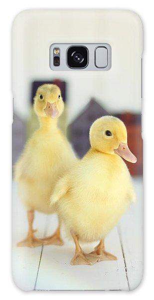 Ducks In The Neighborhood Galaxy Case by Amy Tyler
