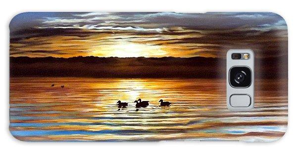 Ducks On Clear Lake Galaxy Case