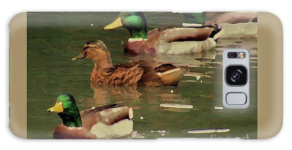 Ducks Race Galaxy Case