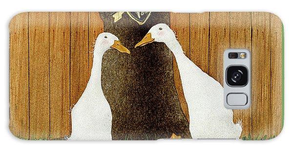 Ducky In Love... Galaxy Case