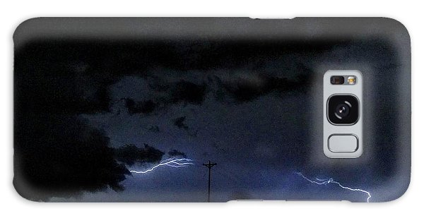 Dueling Lightning Bolts Galaxy Case
