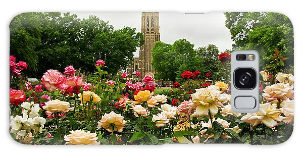 Duke Chapel And Roses Galaxy Case