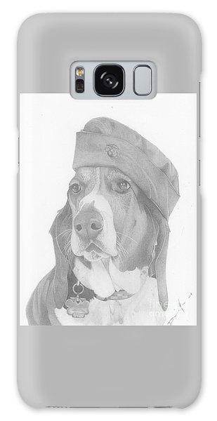 Duke Dog Drawing Galaxy Case