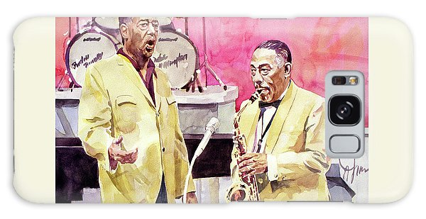 Duke Ellington And Johnny Hodges Galaxy Case