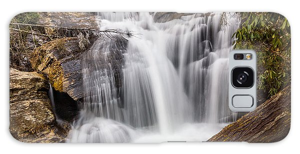 Galaxy Case featuring the photograph Dukes Creek Falls by Michael Sussman