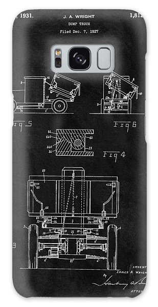 Old Truck Galaxy Case - Dump Truck Patent by Dan Sproul