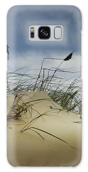 Dune And Beach Grass Galaxy Case