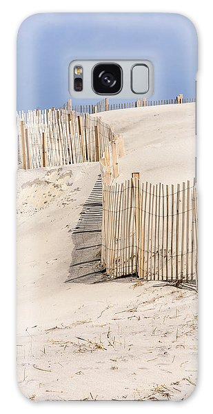 Dune Fence Portrait Galaxy Case