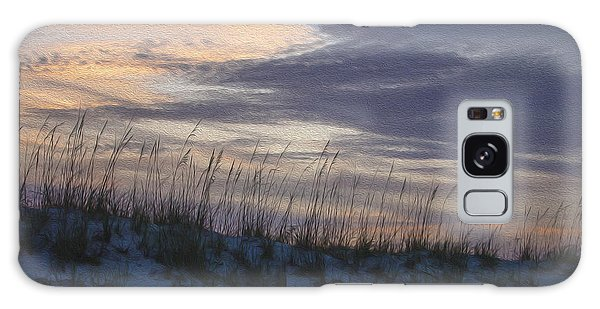 Dune Grass Blue Galaxy Case