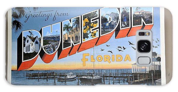 Dunedin Florida Post Card Galaxy Case