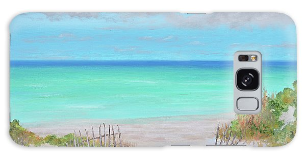 Dunes Beach Galaxy Case