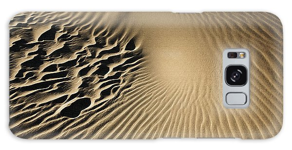 Dunes Footprints Galaxy Case