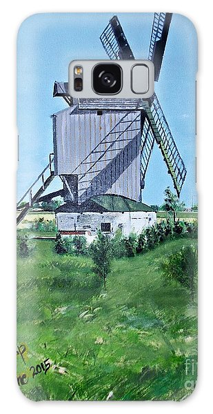 Dunkerque Windmill North Of France Galaxy Case by Francine Heykoop