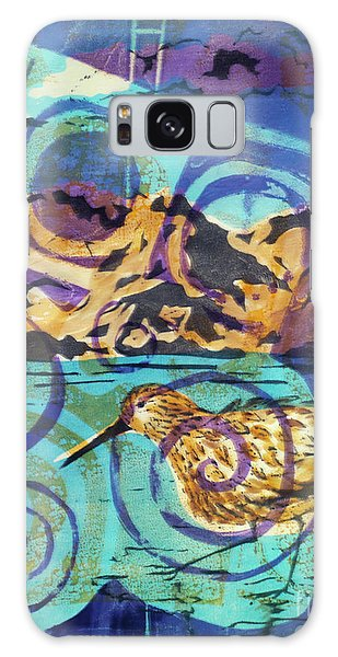 Dunlin On Mudflats Galaxy Case