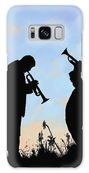 Trumpet Galaxy S8 Case - duo by Guido Borelli