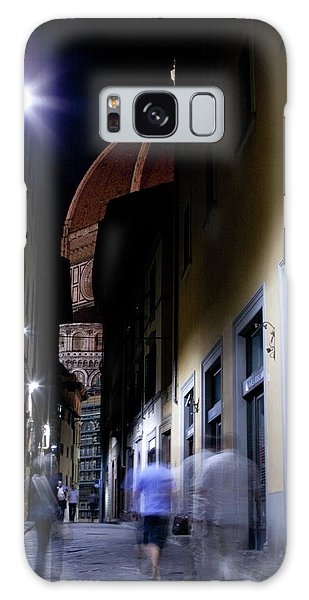Galaxy Case featuring the photograph Duomo In The Dark by Matthew Wolf